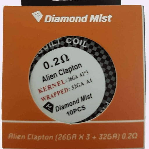 Alien Clapton Coil 0.2 Ohm - Accessories