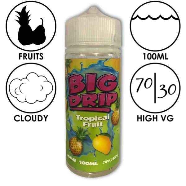 Big Drip E-Liquid Tropical Fruit - Juice