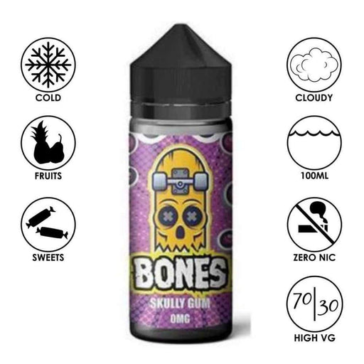 Bones by Wick Liquor Skully Gum - Juice