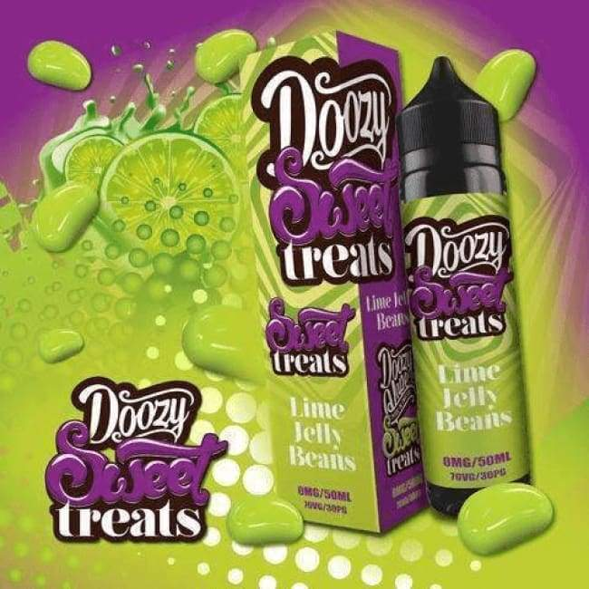 Doozy Vape Lime Jelly Beans - Juice
