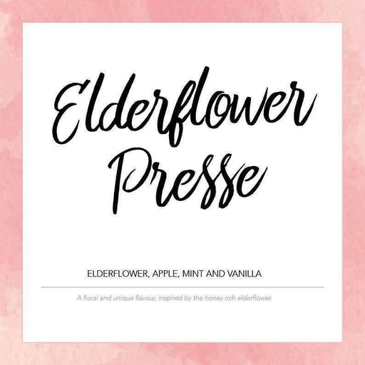 Elderflower Presse - Pink Label Eliquid 10ml - Juice