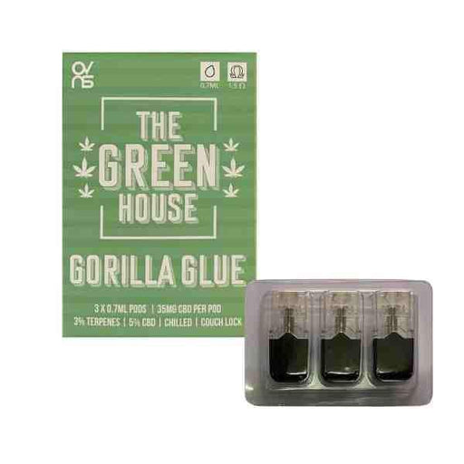 Gorilla Glue CBD eliquid Pods 5% | Juul Compatible - cbd eliquid