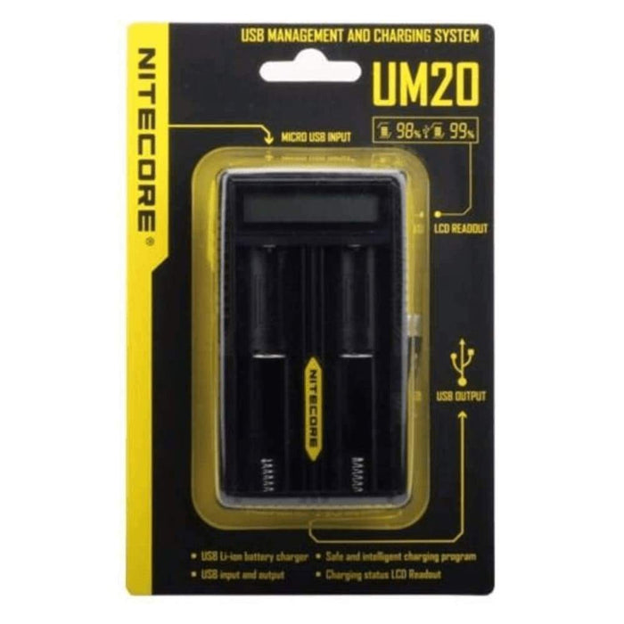 NITECORE UM20 2 Bay Charger - Accessories