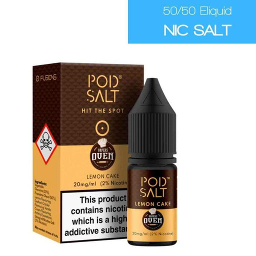 Pod Salt Fusions Lemon Cake - Juice