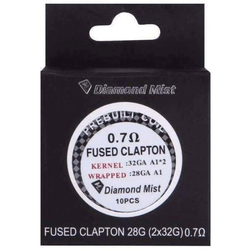 Premade Fused Clapton Coils 0.7 Ohm - Pack of 10