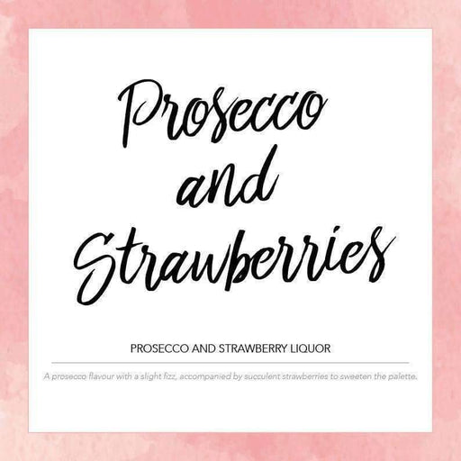 Prosecco & Strawberries - Pink Label Eliquid 50ml - Juice