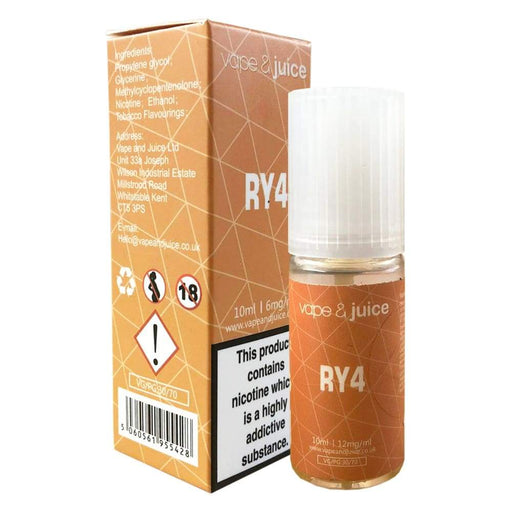 RY4 Eliquid - Juice