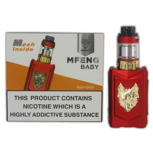 Snow Wolf Mfeng Baby Vape Kit - kits