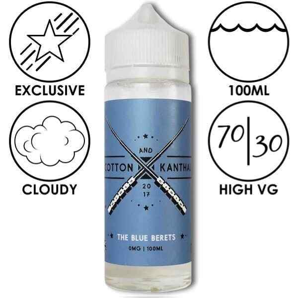 The Blue Berets - Cotton and Kanthal - Juice