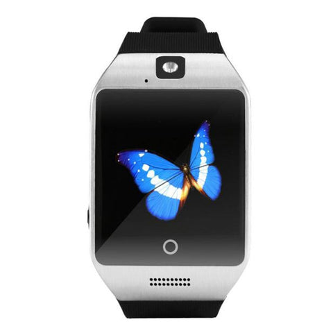 2020 Q18 Bluetoth Smart Watch GSM Camera TF Card Phone Wrist Watch for Android Phone Electronic Wrist Watches Smartwatch