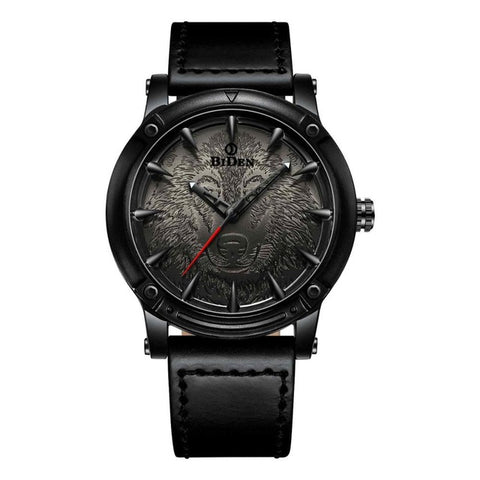 Montre Loup Solitaire | Animal Totem Shop