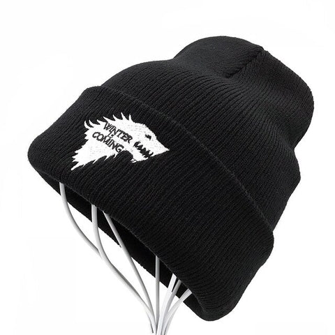 Bonnet Loup Tricoté | Animal Totem Shop