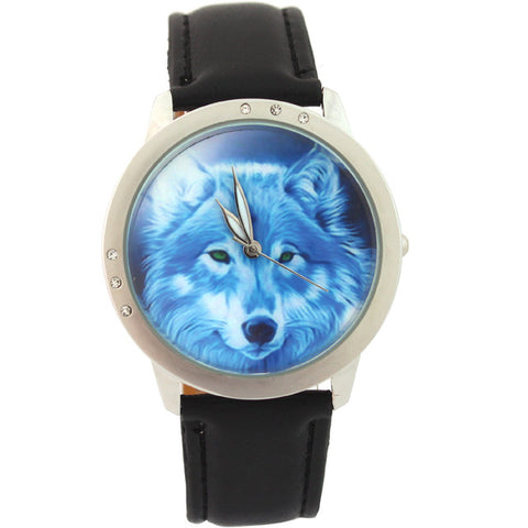 Montre Loup Animé | Animal Totem Shop