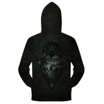 Sweat Loup Homme | Animal Totem Shop