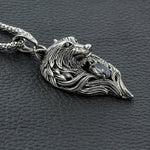 Collier Loup en Argent | Animal Totem Shop