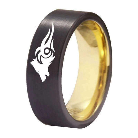 Bague Loup Dessin | Animal Totem Shop