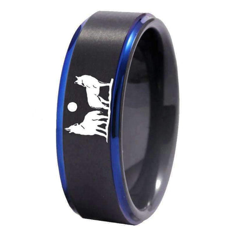 Bague Loup et Louve | Animal Totem Shop