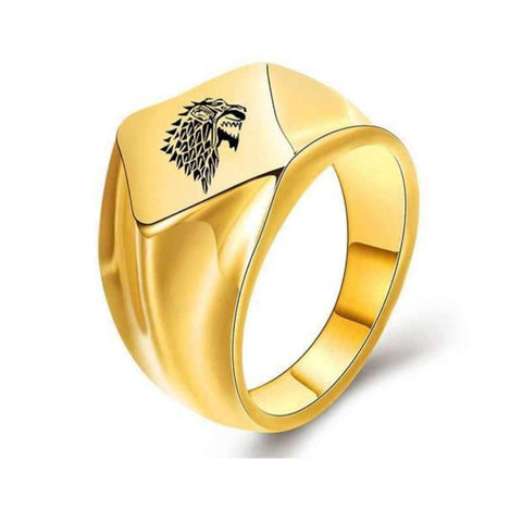 Bague Loup Signification | Animal Totem Shop