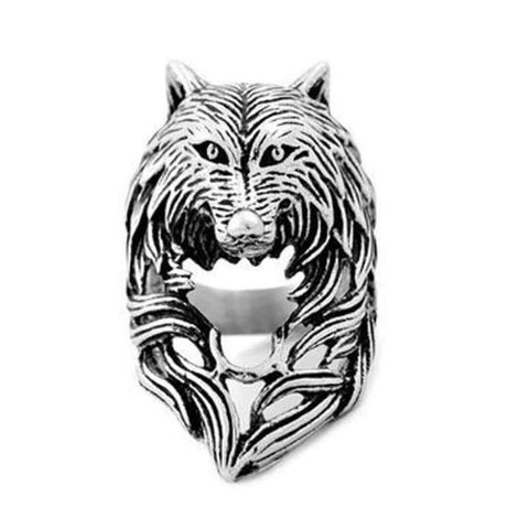 Bague Loup Viking | Animal Totem Shop