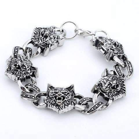 Bracelet Loup Punk | Animal Totem Shop