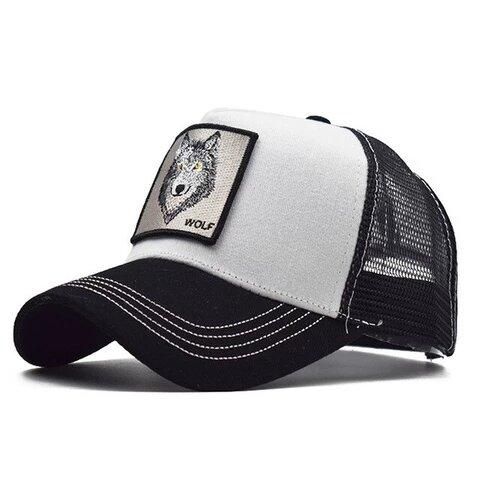 Casquette Loup Blanche | Animal Totem Shop