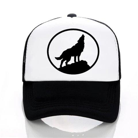 Casquette Loup Hurlant | Animal Totem Shop