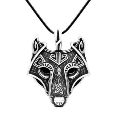 Collier Loup Égyptien | Animal Totem Shop