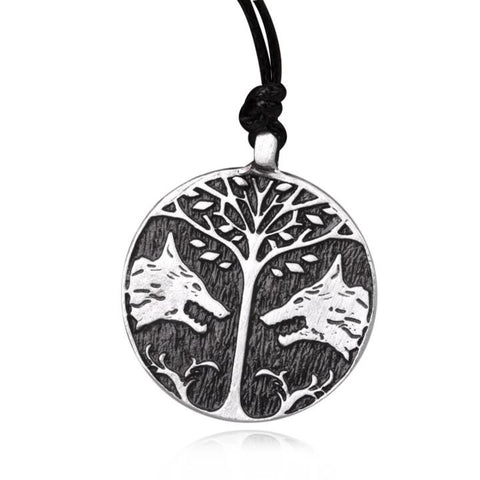 Collier Loup Nature | Animal Totem Shop