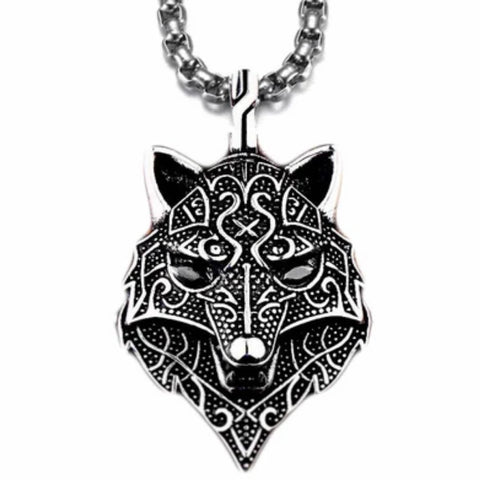 Collier Tête de Loup | Animal Totem Shop