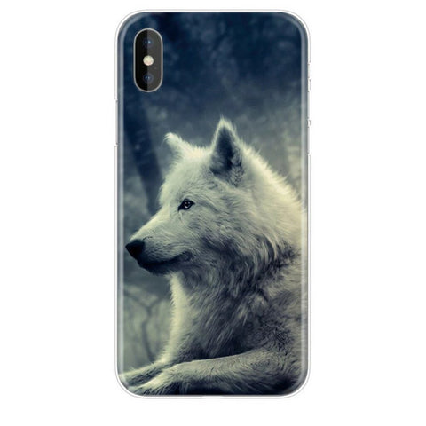 Coque Iphone Loup Arctique | Animal Totem Shop