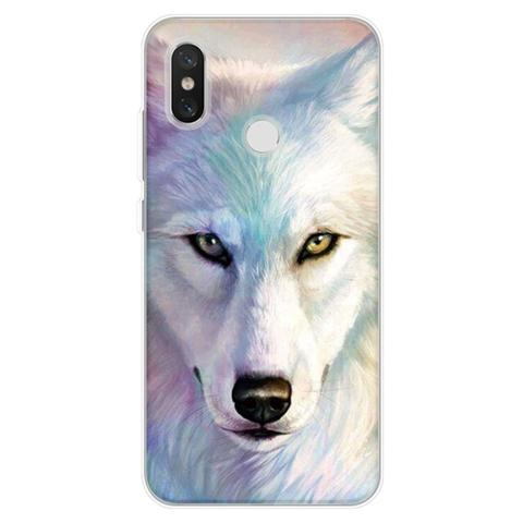 Coque Iphone Loup Blanc | Animal Totem Shop