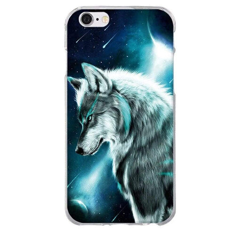 Coque Iphone Loup Lunaire | Animal Totem Shop