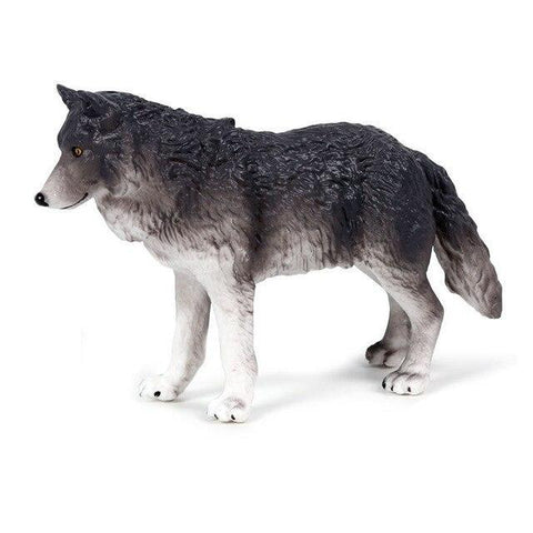 Figurine Loup Gris | Animal Totem Shop