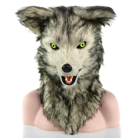 Masque de Loup Lupus | Animal Totem Shop