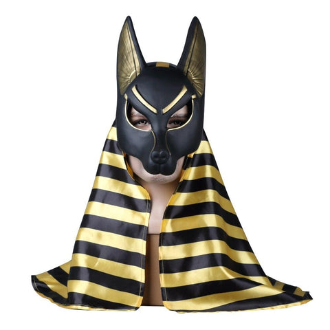 Masque Loup Anubis | Animal Totem Shop