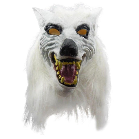Masque Loup Blanc | Animal Totem Shop