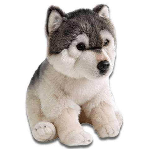 Peluche Loup Bébé Loup | Animal Totem Shop
