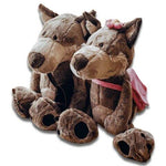 Peluche Loup et Louve | Animal Totem Shop