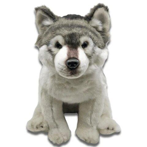 Peluche Loup Gris | Animal Totem Shop