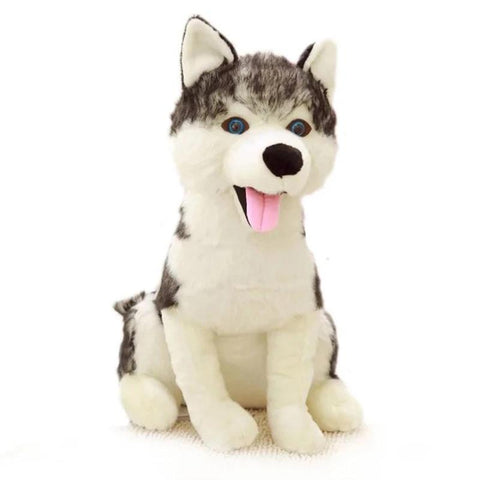 Peluche Loup Husky | Animal Totem Shop