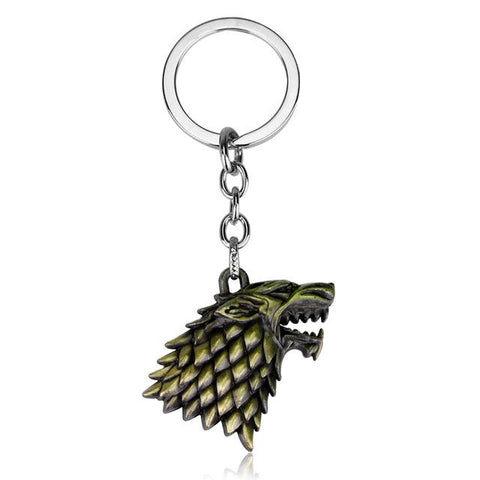 Porte Clé Loup Game of Thrones | Animal Totem Shop