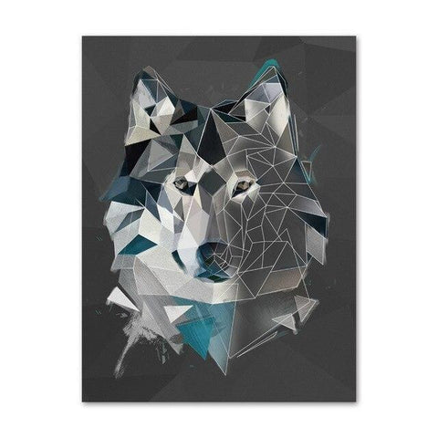 Poster Loup Animal | Animal Totem Shop
