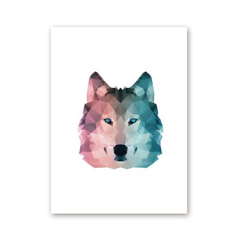 Poster Loup Art | Animal Totem Shop