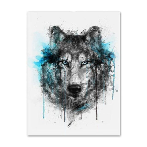 Poster Loup Design | Animal Totem Shop
