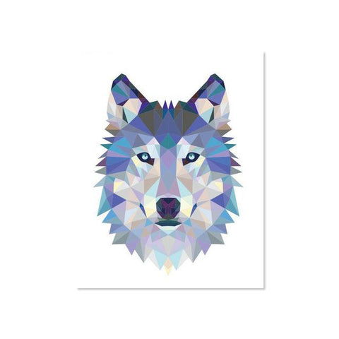 Poster Loup Impression | Animal Totem Shop