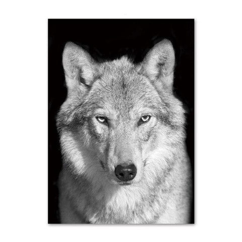 Poster Loup Photo | Animal Totem Shop