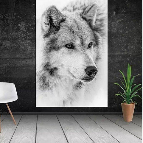 Poster Tête de Loup | Animal Totem Shop