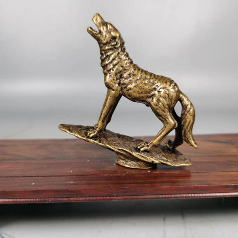 Statue Chien Loup | Animal Totem Shop