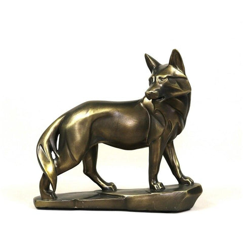Statue Loup Déco | Animal Totem Shop