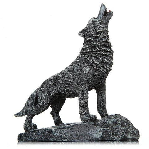 Statue Loup Design | Animal Totem Shop